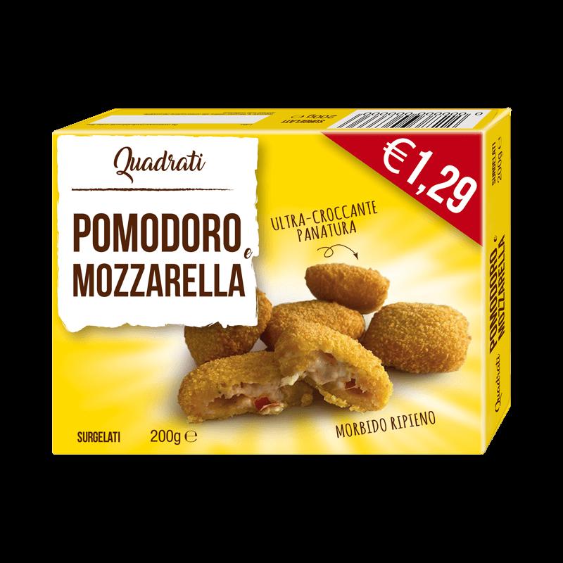 Quadrati pomodoro & mozzarella